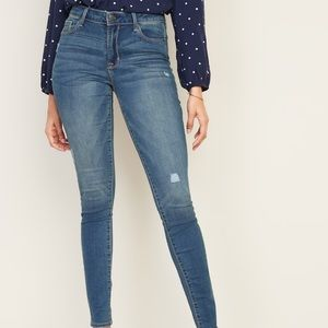 Rockstar Mid-rise Jeans Old Navy